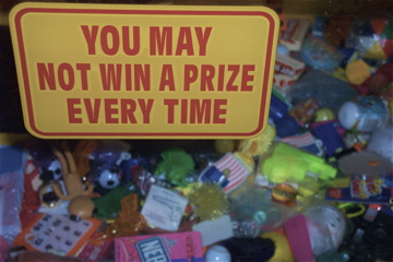 Buyer Beware: the *Grab It!* Crane Game, Bowlin's (Separ, NM)